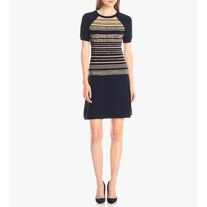 Shoshanna Knit Stripe Bethany Sweater Dress